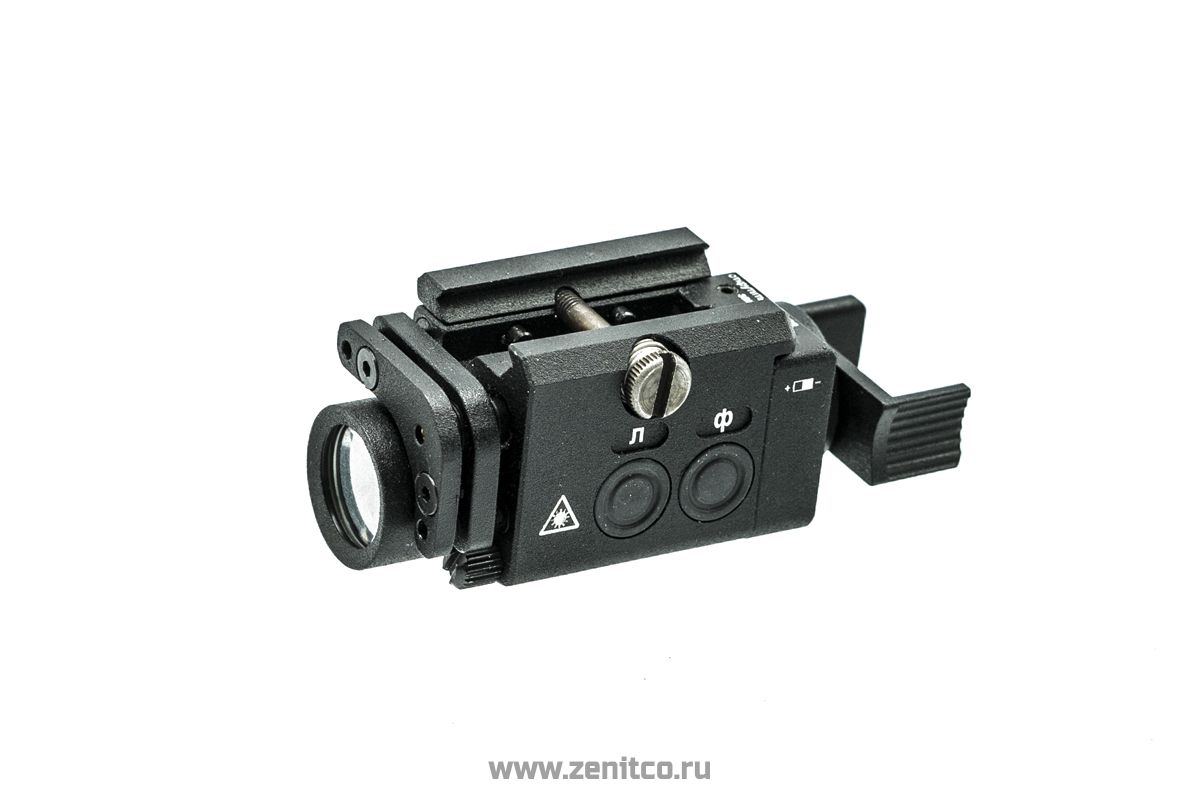 """Klesch mini 2KS+laser"" flashlight"
