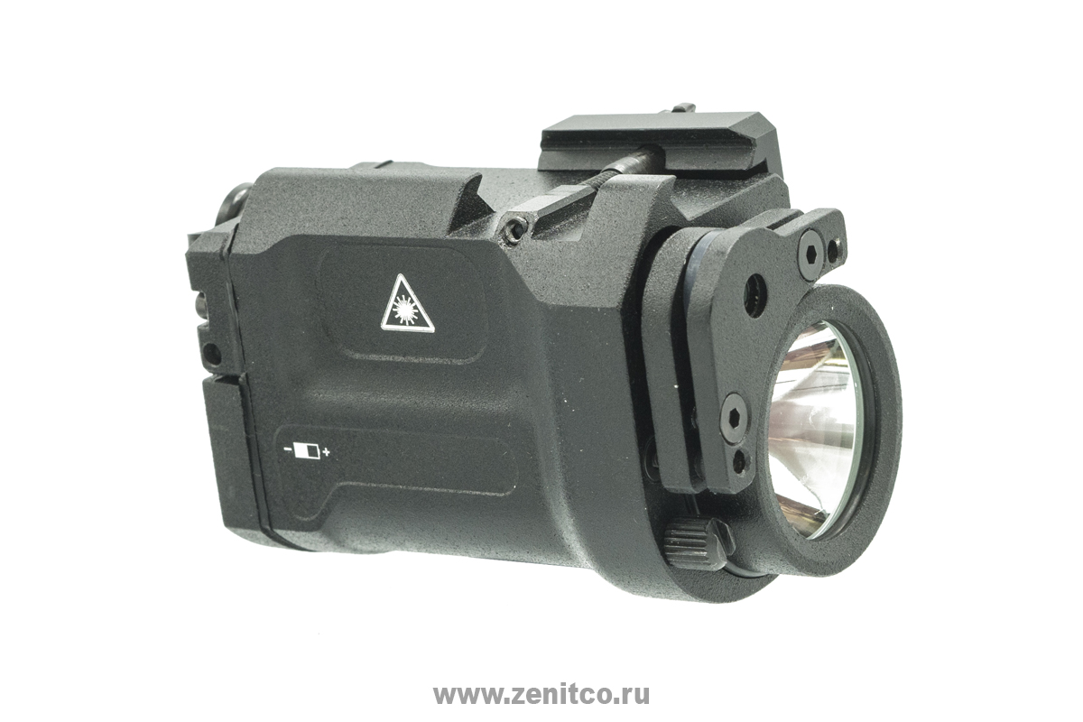 """Klesch-2IKS+laser"" flashlight"